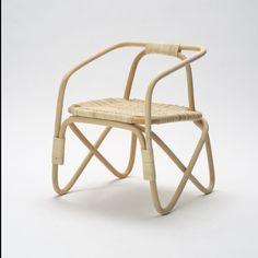 Micheli Armellini's modern wicker chair via rodrigoalmeidadesign