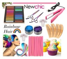 """""""Love NewChic"""" by pixidreams ❤ liked on Polyvore featuring beauty and Cotton Candy"""
