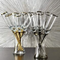 Toast to high style with our fan favorite Salud Toasting Flutes!