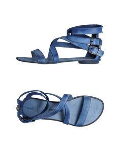 Fabrizio Chini blue strappy flat sandal