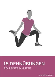 15 stretching exercises for buttocks, groin and hips To become more flexible and agile, i . - 15 stretching exercises for buttocks, groin and hips Regular stretching is essential to become more - Fitness Workouts, Yoga Fitness, Physical Fitness, Fitness Quotes, L5 S1 Exercises, Stretching Exercises, Yoga Inspiration, Fitness Inspiration, Big Biceps