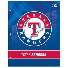Texas Rangers Two-Pocket Portfolio
