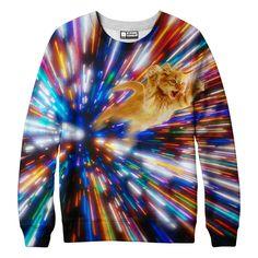 Cat Vortex Sweatshirt from Beloved Shirts
