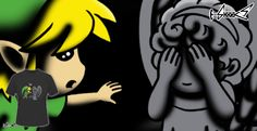 T-shirts - Design: Don't, Link! - by: Boggs Nicolas