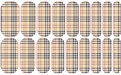 Jamberry Full sheet Plaid Burberry #Jamberry