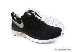 Nike men Fingertrap Max Amp training shoes size 9.5 - Black / Silver /White $135 #Nike #RunningCrossTraining