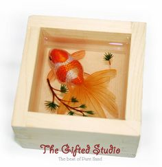Resin art,3D Goldfish paintings handmade creative home furnishing Creative Gifts Art Decoration by acrylic paints on Etsy, 88,52 €