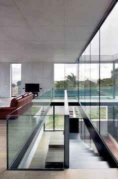 Stunning concrete and glass home in Mallorca by SCT Estudio de Arquitectura