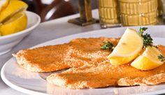 Recipe for Tel Aviv's most famous schnitzel : Cafe Noir's chicken schnitzel