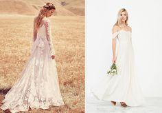 Destination wedding proof wedding dresses Perfecte trouwjurken voor als je gaat trouwen in het buitenland Jurk, trouwjurk, bruidsjurk, dress, odylyne the ceremony, reformation