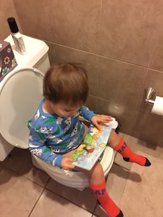 Potty Training before two! How we potty trained our boy before he was two. No more diapers