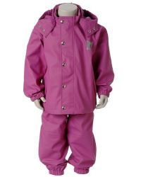 Mikk-Line Childrens Waterproof Rain Suit - Jacket & Dungarees available from Adventure Togs - SALE PRICE £27.99