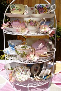 Lovely display of cups