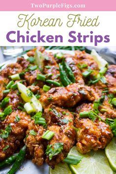 Chicken Recipes At Home, Chicken Strip Recipes, Ground Chicken Recipes, Fried Chicken Recipes, Turkey Recipes, Whole Baked Chicken, Fried Chicken Strips, Korean Fried Chicken, Crispy Chicken