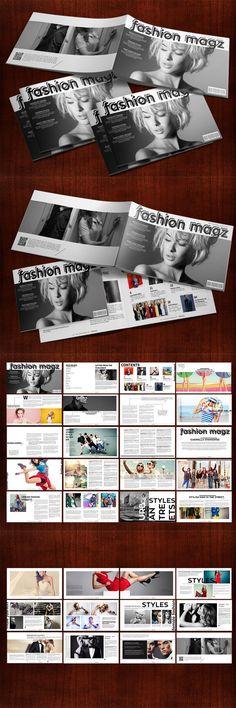 Fashion Magazine Style Presentation