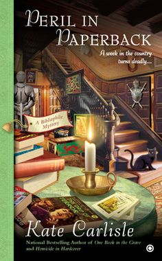"""Peril in Paperback  (A Bibliophile Mystery, #6)"" by Kate Carlisle --- 7 September 2012 / Completed Book #81"