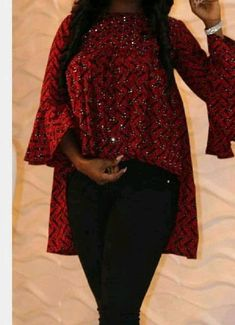 African Maxi Dresses, African Fashion Ankara, Latest African Fashion Dresses, African Print Fashion, African Attire, African Blouses, African Tops, Mode Kimono, Casual