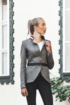 Models, Athletic, Blazer, Outfits, Fashion, Equestrian, Mandarin Collar, Get Tan, Jackets