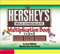 Hersheys Milk Chocolate Multiplication Book (Hersheys) (By Jerry Pallotta)Hershey¹s does it again! This tasty book by Jerrt Pallotta introduces simple multiplication to children and will prove to be a multitude of fun and learning! Learn multiplication with a yummy...