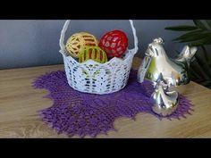 Easter Crochet, Ale, Decorative Bowls, Basket, Make It Yourself, Google, Wedding, Crochet Snowflakes, Hampers