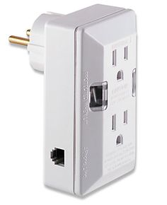 EuroSurge™ - Surge Protector. dual-voltage portable protection in Europe.