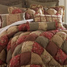 Nicola Puff Comforter Set & Accessories