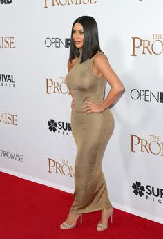"""Kim Kardashian Photos Photos - TV personality Kim Kardashian West attends the premiere of Open Road Films' """"The Promise"""" at TCL Chinese Theatre on April 12, 2017 in Hollywood, California. - Premiere of Open Road Films' 'The Promise' - Arrivals"""