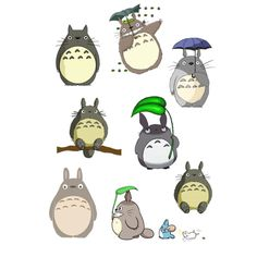 totoro tattoo design - Buscar con Google