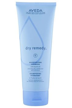 Aveda's moisturizing shampoo saturates dry, brittle hair with buriti oil and plant-derived conditioners, leaving hair softer than your favorite worn-in tee.   Aveda Dry Remedy Moisturizing Shampoo, $24, available at Aveda. #Refinery29