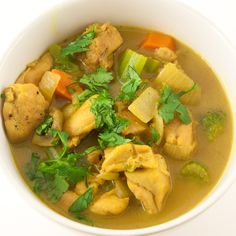 Chicken Curry Stew- made this last night.with a few changes. Chicken Curry Stew, Stew Chicken Recipe, Curry Recipes, Soup Recipes, Cooking Recipes, Savoury Recipes, Healthy Chicken Recipes, Chicken Meals, Low Carb Curry