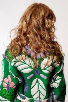 sick jacket and hair