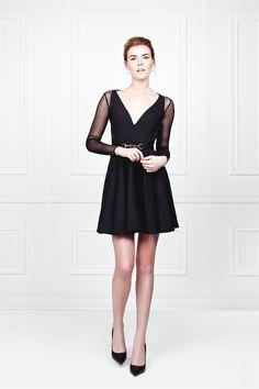 Little Black Dress - A Line - V neck