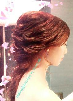 Bridal hairstyle wwwfacebok.com/vivanwu
