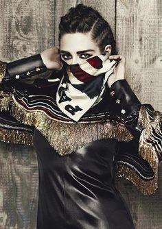 Kristen Stewart for Chanel Pre Fall 2014 by Karl Lagerfeld