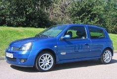 2003 Renault Clio Renaultsport 172 Cup Mondial Blue by Steve Coulter Performance Cars.