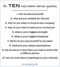 Learn how to Ace The Interview. In the interview, you are sure to encounter behavioral interviewing questions. Because they work! Most Common Interview Questions, Interview Skills, Interview Questions And Answers, Job Interview Tips, Interview Preparation, Interview Weakness Answers, Starbucks Interview Questions, Preparing For An Interview, Customer Service Interview Questions