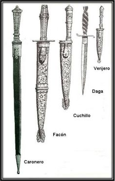 The facon and the creole knives Swords And Daggers, Knives And Swords, Kydex, Nouveau Tattoo, Armadura Cosplay, Knife Tattoo, Knife Throwing, Knife Sheath, Cold Steel