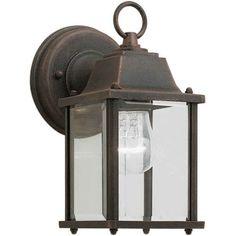 Forte Lighting 1 Light Outdoor Lantern