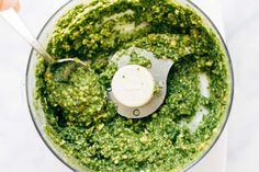 Kale-Pesto-in-Food-Processor