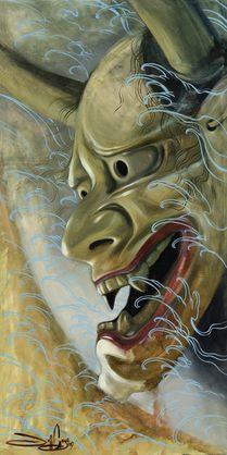 """Painting by Jeff Gogué """"Clay and Water"""""""
