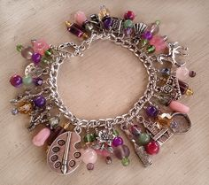 Princess Rapunzel Charm Bracelet by MistressJennie on Etsy, $50.00