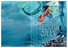 """Die englischsprachige Ausgabe von """"Die Wasserläufer"""" - """"The flowing queen"""""""