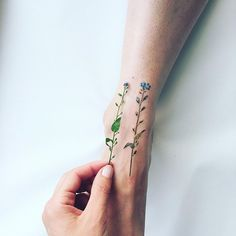 Changing Seasons Inspire Delicate Nature Tattoos
