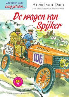 De wagen van spijker, nieuw boek voor kinderen en onderwijs #AVI
