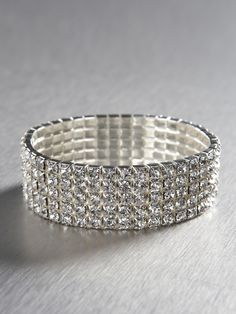 Five Row Bling Bracelet  $38  Look Gia for sale