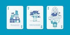 Facebook B2B marketing insights playing cards - Hearts - by Human After All