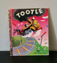 Children's Hardcover Tootle Book A Little Golden by FlatRockGoods