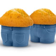 Muffin Tops Baking Cups - Fred  #gift #cool #quirky #xmas #mzube #shopping #birthday #santa #stocking #gifts