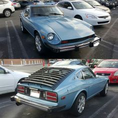 Clean 280z spotted at the DMV this morning.. Looks all-original! #Datsun #280z #zcar #zcarsofinstagram #DatsunZ #louvers #datsungarage