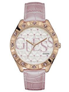 GUESS São Valentim 2016 | W0696L2 Guess Watches, Bracelet Watch, Pearls, Bracelets, Accessories, Fashion, Saint Valentine, Fashion Trends, Moda
